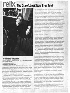 McNally, Dennis - Long Strange Trip - Relix 08-2002