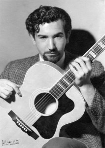 Jerry Garcia, young, with a goatee