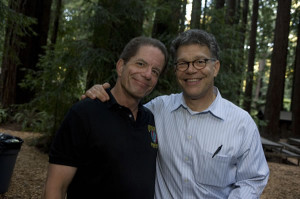 Me and my other favorite Senator, the distinguished member from Minnesota, Al Franken.
