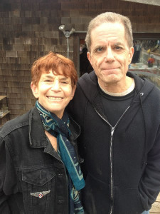 Susana and me at the S.F. Zen Center