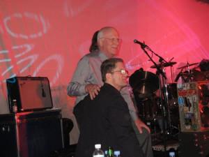 Senator Pat Leahy and me at a benefit