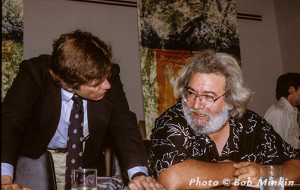 Me and You Know Who at the United Nations press conference about the Rainforest, 1989.